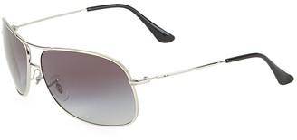 Ray-Ban RB3267 64MM Square Wrap Aviator Sunglasses