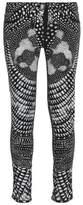 Roberto Cavalli Printed Faille Skinny Pants
