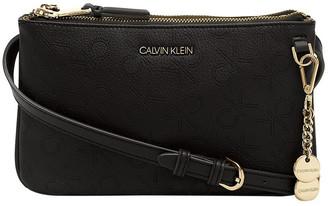 Calvin Klein H0DEWBA2_BOO DENVER Zip Top Crossbody Bag