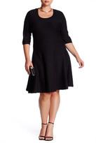 Nic+Zoe Twirl Flare Dress (Plus Size)