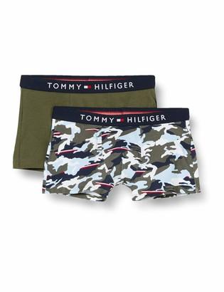 Tommy Hilfiger Boy's 2P Trunk Print Boxer Shorts