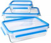 Zyliss Fresh 6-Piece Glass Food Storage Set