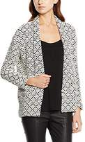 Comma Women's Cardigan Brown Braun (brown dobby 80K1)
