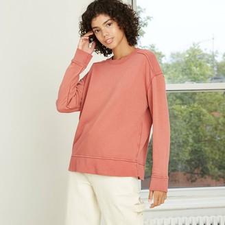 Universal Thread Women's Camo Print Sweatshirt - Universal ThreadTM