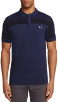 Fred Perry Textured Stripe Pique Regular Fit Polo Shirt
