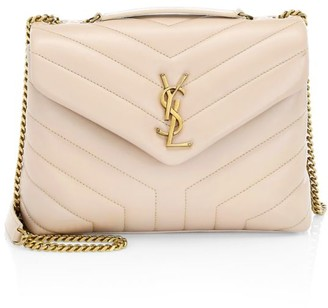 Saint Laurent Small Loulou Matelasse Leather Shoulder Bag