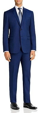 Giorgio Armani Emporio Plain-Weave Virgin Wool Regular Fit Suit