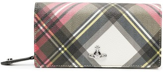 Vivienne Westwood Derby tartan foldover wallet