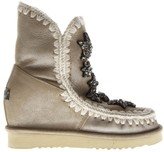 Mou Stars Stone Suede Boots