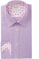 Ted Baker Yaholo Trim Fit Dress Shirt