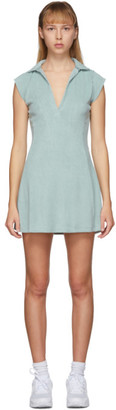 Gil Rodriguez SSENSE Exclusive Blue Terry Tennis Dress