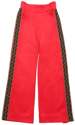 Fendi Logo Bands Triacetate Pants