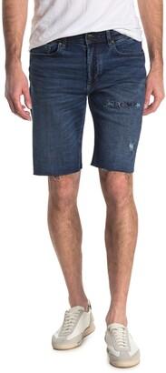 Blanknyc Denim Horatio Distressed Raw Hem Denim Shorts
