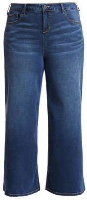 Slink Jeans, Plus Size High-Waist Denim Culottes