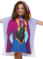 Disney Frozen Anna Hooded Poncho Cotton Bath/Beach/Pool Towel