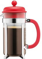 Bodum Caffettiera Coffee Maker - 1.0 L/34 oz, Red