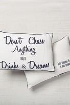 Drinks & Dreams Linen Pillow - 18 x 12