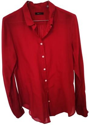 Truenyc. True Nyc Red Cotton Tops