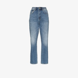 Ksubi Chlo Wasted high waist straight leg jeans