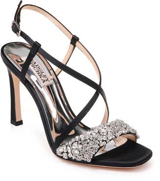 Badgley Mischka Elana Satin Sandals