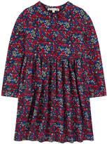Bonpoint Printed crepe shirt dress