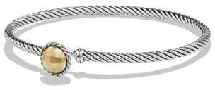 David Yurman Chatelaine Bracelet With 18K Gold