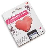 DCI Product Heart-Shaped Splitter Keychain