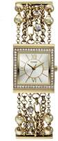 GUESS GUESS? Women's Gold Analog Watch W0417L2