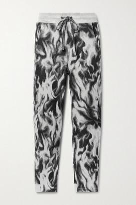 Twenty Montreal Flames Hyper Reality Intarsia Cotton-blend Jersey Track Pants