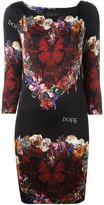 Philipp Plein 'Floral Boom' dress