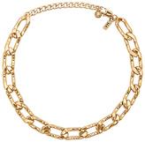 Vanessa Mooney Lucy Choker in Metallic Gold.