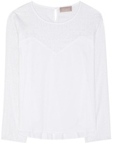 81 Hours 81hours Felice embroidered cotton blouse