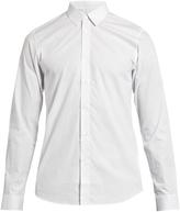 Jil Sander Micro geometric-print cotton shirt