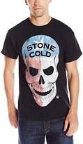 WWE Men's Stone Cold Americana Skull Men's T-Shirt