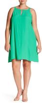 BB Dakota Sleeveless Trapeze Dress (Plus Size)