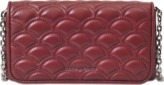 Marc Jacobs Matelasse wallet on chain