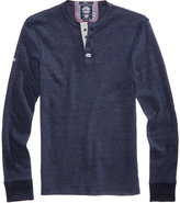 Superdry Men's Heritage Grandad Heathered Henley