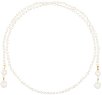 Sophie Bille Brahe 14kt Yellow Gold Pearl Necklace