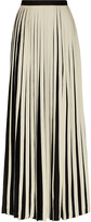 By Malene Birger Ishrat striped crepe de chine maxi skirt