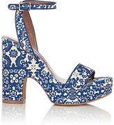 Tabitha Simmons Women's Paisley-Print Calla Platform Sandals