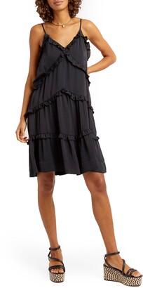 Rebecca Minkoff Sasha Sleeveless Ruffle Dress
