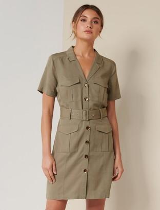 Ever New Sonia Utility Mini Dress