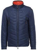 Hugo Boss Jakobo Nylon Reversible Quilted Jacket LOrange