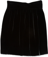 Fendi Velvet Mini Skirt