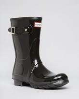 Hunter Short Glossy Rain Boots