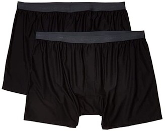 Exofficio Give-N-Go(r) 2.0 Boxer 2-Pack (Black) Men's Underwear