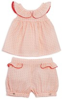 Tartine et Chocolat Girls' Geo Dot Top & Shorts Set - Baby