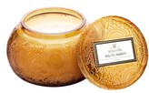 Voluspa Embossed Glass Chawan Bowl Candle