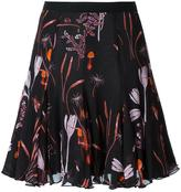 Giambattista Valli floral print A-line skirt - women - Silk/Cotton/Acetate/Viscose - 42