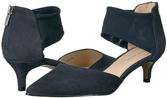 Pelle Moda Dezi (Black Suede) Women's Shoes